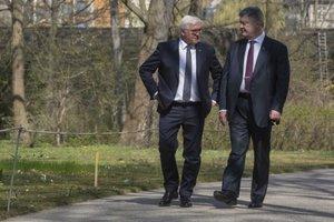 Штайнмайер и Порошенко. Фото: president.gov.ua