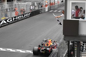 Даниэль Риккардо стал победителем Гран-при Монако