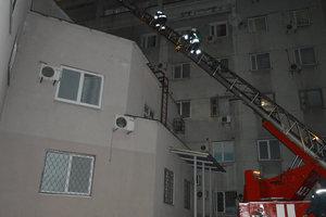 В Днепре ночью горела больница имени Мечникова