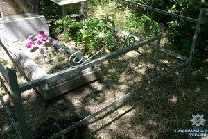 В Мелитополе кладбищенские вандалы разграбили десятки могил