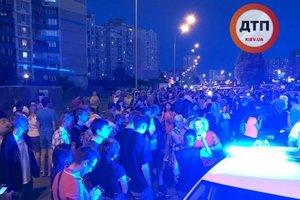 ДТП при участии спецавтомобиля в Киеве: в полиции рассказали подробности