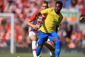 Фред и Тайсон помогли Бразилии обыграть Хорватию, Неймар забил гол