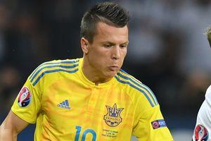 Коноплянка вышел на третье место в списке бомбардиров сборной Украины за всю историю