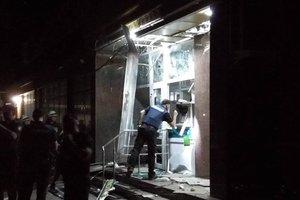 В Кропивницком взорвали банкомат: опубликованы фото и видео