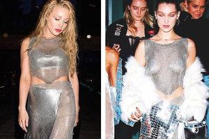 Модная битва: Тина Кароль и Белла Хадид в одинаковых нарядах