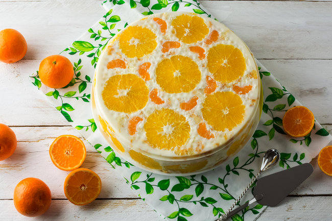 как приготовить желейный торт с фруктами