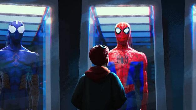 2-ой трейлер мультика «Человек-паук: Через вселенные». Гвен-паук иотличная анимация