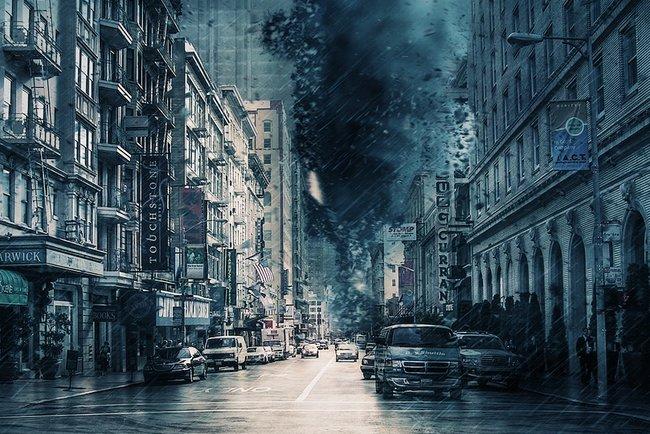 Ураганы несут смертельную угрозу. Фото: pixabay