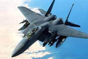 У берегов Японии разбился истребитель ВВС США
