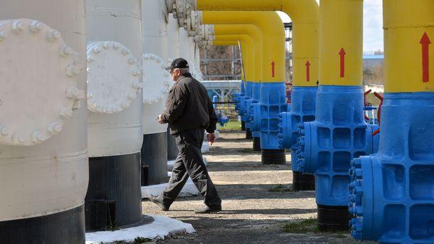 Запасы газа Украины увеличились до10 млрд кубометров