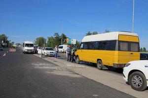 Под Киевом маршрутка насмерть сбила пешехода
