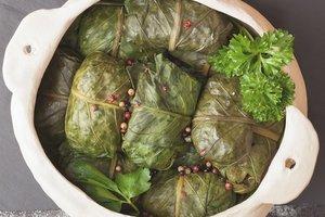 Долма: рецепт с рисом, мясным фаршем и болгарским перцем