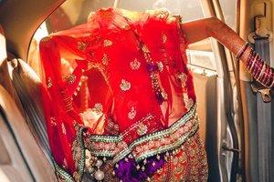 Показали невероятные фото из традиционных индийских свадеб