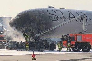 В Германии загорелся самолет: есть пострадавшие