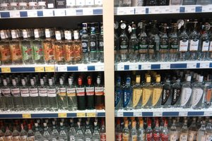 В Украине резко выросло производство водки