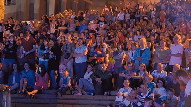 Концерт под открытым небом. Фото: oda.odessa.gov.ua