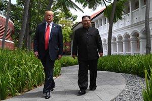 Трамп раскрыл подробности встречи с Ким Чен Ыном