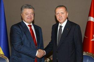 Порошенко призвал Эрдогана способствовать в освобождении украинских заложников