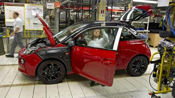Производство авто в Украине рухнуло на 40%