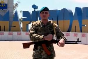 Морпехи поздравили Мариуполь с годовщиной освобождения: опубликовано трогательное видео