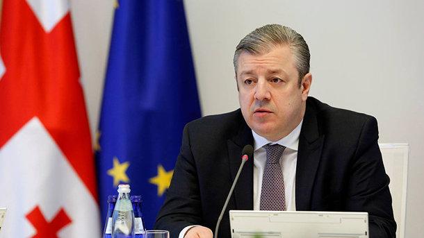 Премьер  Грузии подал вотставку