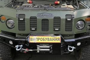 Полторак показал новый броневик для ВСУ: опубликованы фото