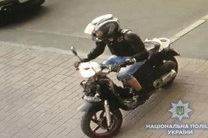 У Києві затримали лихого грабіжника на мотоциклі
