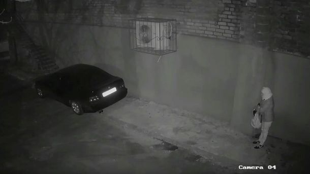 Фото: кадр из видеозаписи камеры с места преступления