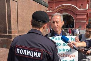 У Москві затримали активіста з Великобританії