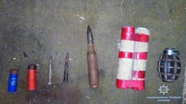 Запорожские копы провели спецоперацию: обнаружено немало боеприпасов