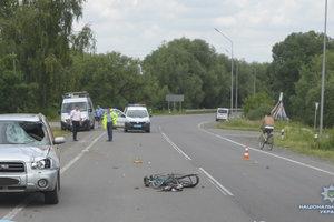 На Волыни под колесами внедорожника погибла мать троих детей