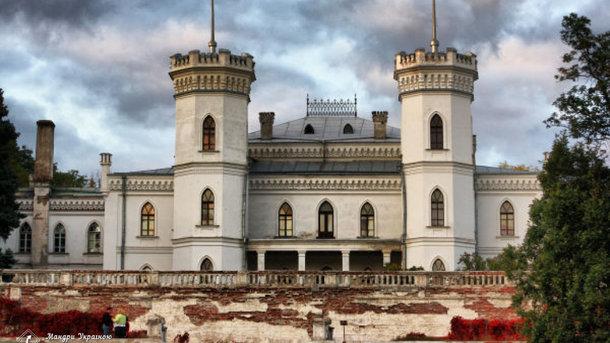 В Харьковской области реконструируют Шаровский замок