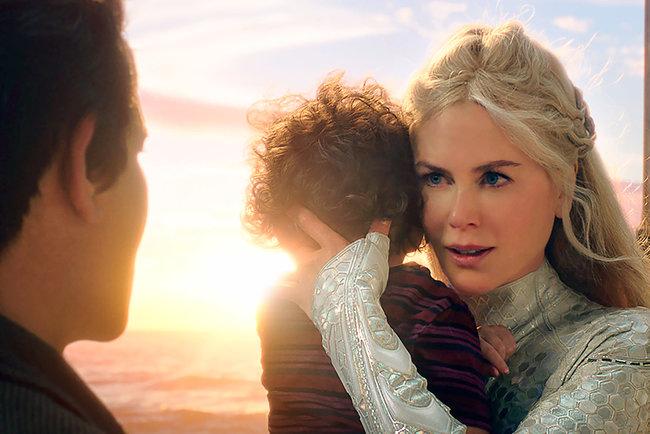 Появился 1-ый снимок Николь Кидман вобразе королевы Атланны из«Аквамена»