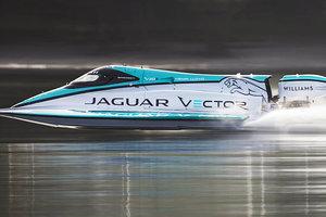 Видеохит: Jaguar установил рекорд скорости на воде