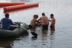В Одессе девочка утонула, спустившись с горки в воду