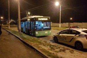 В Харькове рассказали о стрельбе по троллейбусу