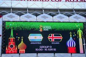 Чемпионат мира-2018: онлайн матча Аргентина - Исландия - 1:1 Месси не забил пенальти