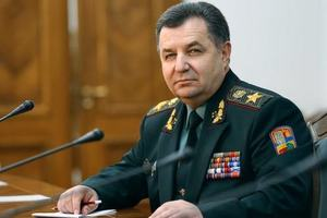 Полторак: Ни один из военных срочной службы не будет на Донбассе