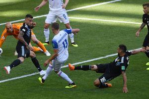 Гол исландца признан лучшим моментом дня на чемпионате мира