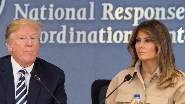 Меланья Трамп раскритиковала миграционную политику супруга