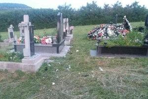 """В Закарпатской области дети устроили на кладбище """"погром"""""""
