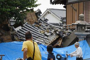 В Японии от мощного землетрясения погибли три человека