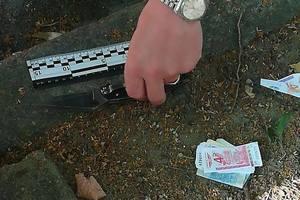 В Киеве разбойники ограбили мужчину и угрожали патрульным ножом