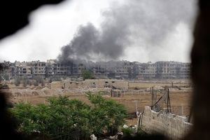 """Авиаудар """"неизвестных"""" сил в Сирии: у союзников Асада большие потери"""