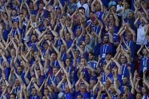Только 1392 жителя Исландии не смотрели матч с Аргентиной на ЧМ-2018