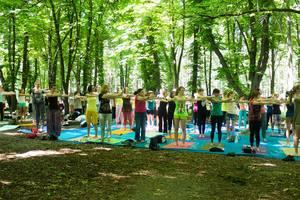В Киеве отметят Международный день йоги