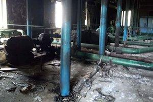 В Одесской области люди в масках сожгли оросительную станцию