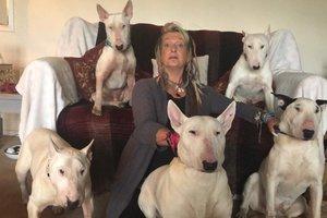 Женщина отказалась от мужа, с которым прожила 25 лет, ради 30 собак