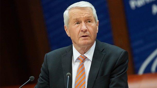 Генеральный секретарь  Совета Европы планирует завтра увидеться  сПутиным в столице России