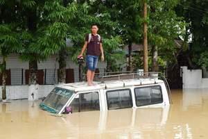 Полмиллиона человек пострадали от масштабного наводнения в Индии